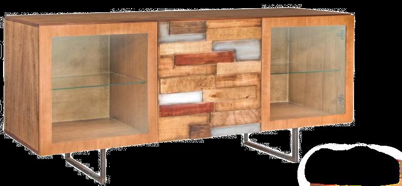 Credenza Loft in vetro