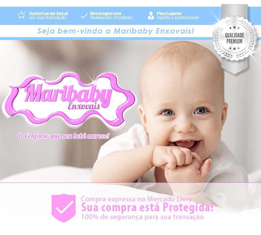 Kit Berço Americano 10 Peças Completo  Ursa Tati Menina Rosa em Tabatinga