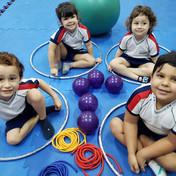 A modalidade Pilates Infantil faz parte das nossas atividades