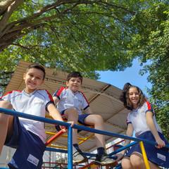 Nossos playgrounds são uma atração muito querida dos alunos