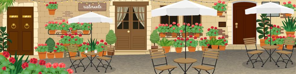 Italian Open Air Resto