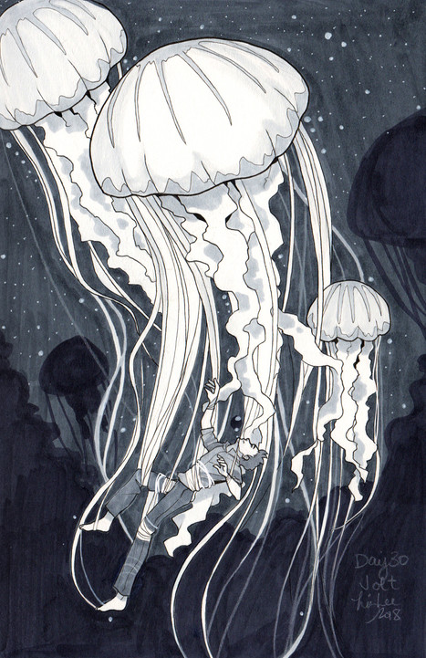 Inktober - JellyDeathGods
