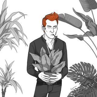 Crowley and his Plants
