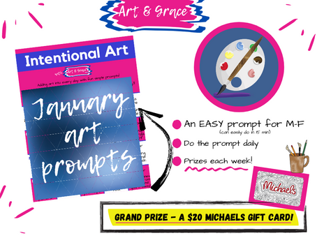 What Art Prompt January Taught Me