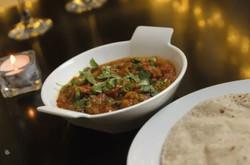 Aurro-curry dish