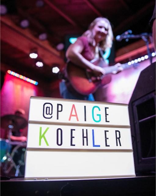 Paige Koehler at 710 Beach Club