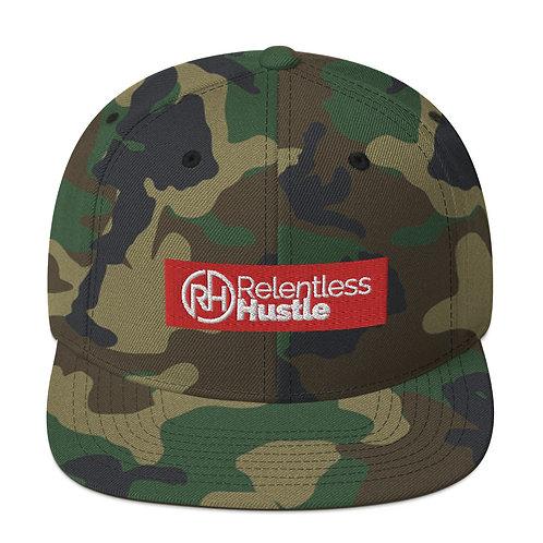 Relentless Block Logo Snapback Hat