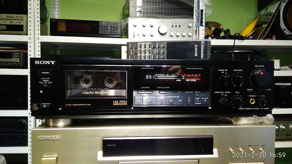 Sony TC-K500R