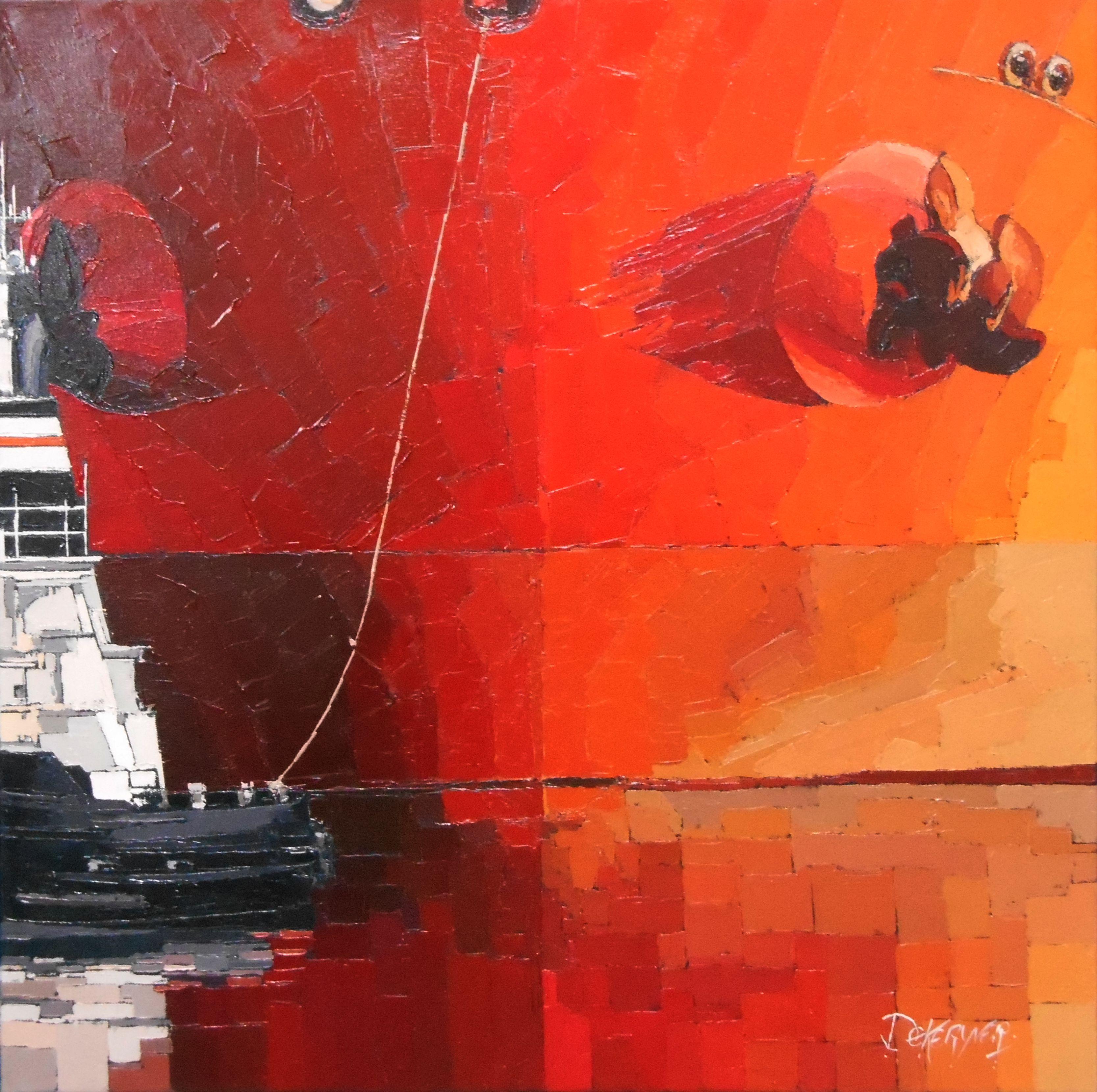 GUY DEKERYVER   les-artistes-la-mer