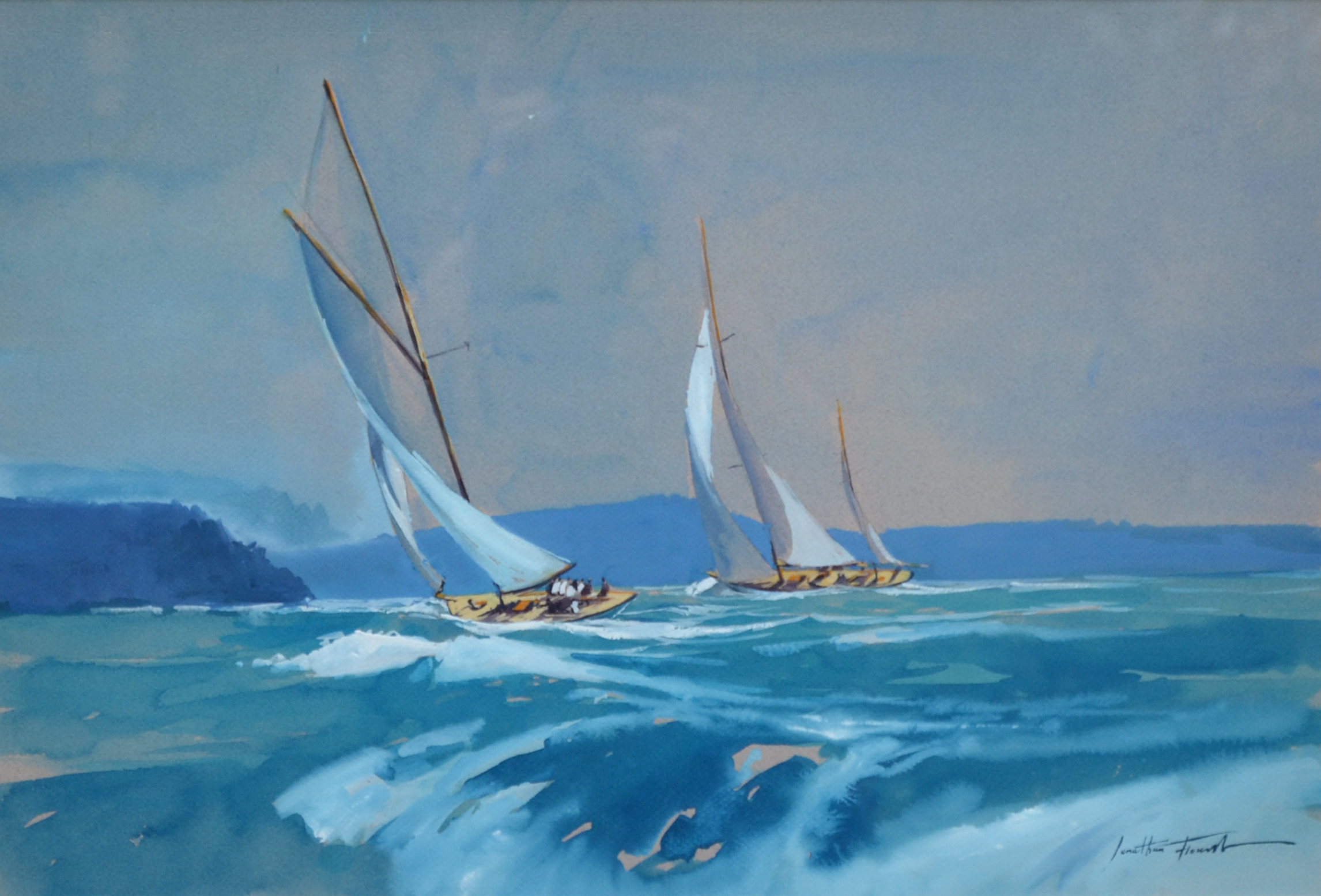 FL 031  Argentario sailing week 55X38