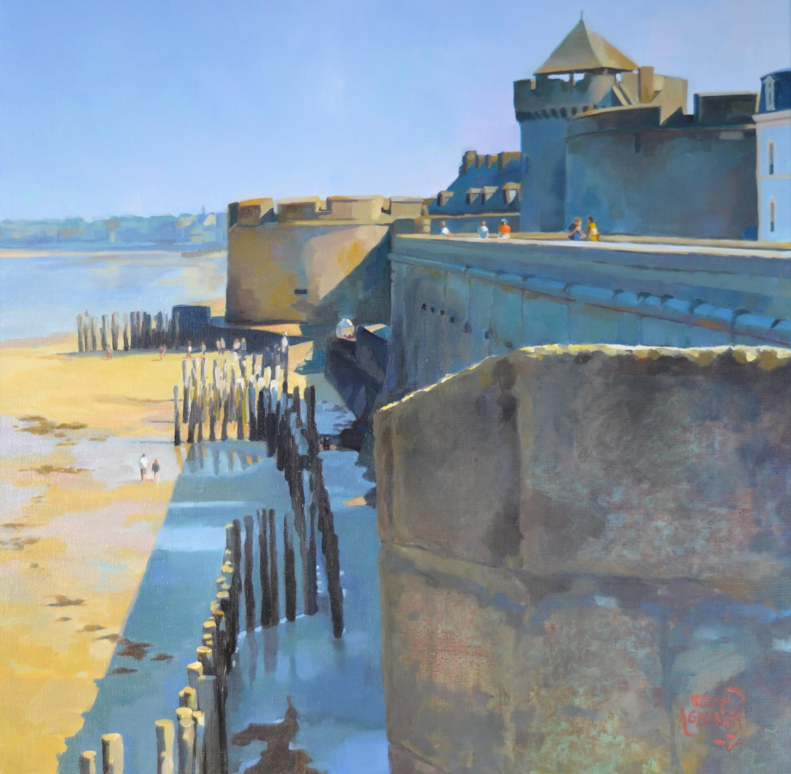 Saint Malo, tout au bout de la rue du chat qui danse