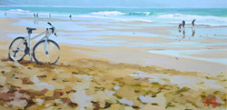 ©RocheGardies  Costa da Caparica, le grondement des vagues, huile su (2).JPG