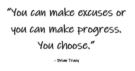 Excuses Not to Do the Work