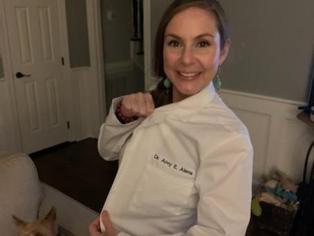 Congratulations Dr. Amy Alena!!!