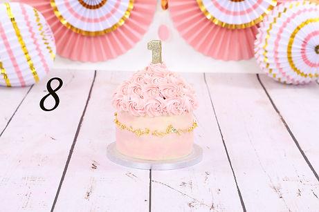 cake smash taart Koemelk vrij