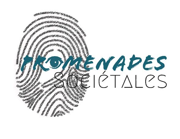 Logo Promandes Societales. Social Media.