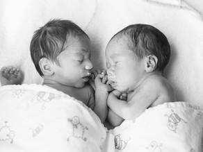 Geboortefotografie Parkstad - Jason en Mason