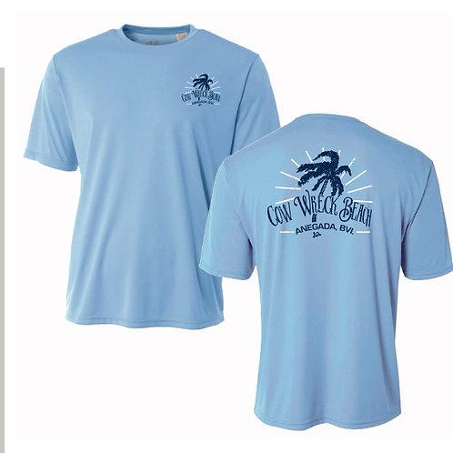 (Youth / Kid ) Cow Wreck Beach Kids Short Sleeve  44+ SPF UV Sun Shirts