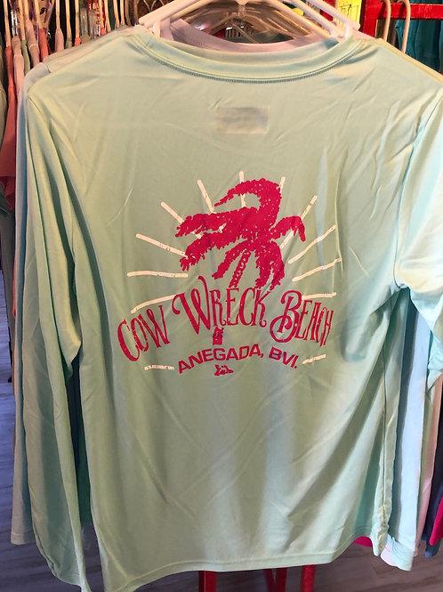 Women - Cow Wreck Beach UV Long SleeveTees