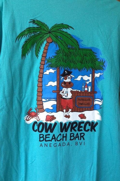 Cow Wreck Beach Bar - Cotton T Shirt
