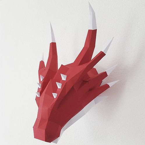 Trophée Dragon -Kit DIY