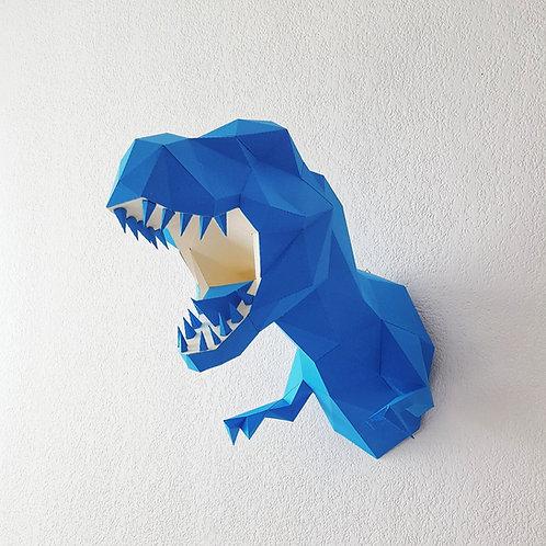 Sculpture  Dinosaure T REX DIY kit. Trophée T REX