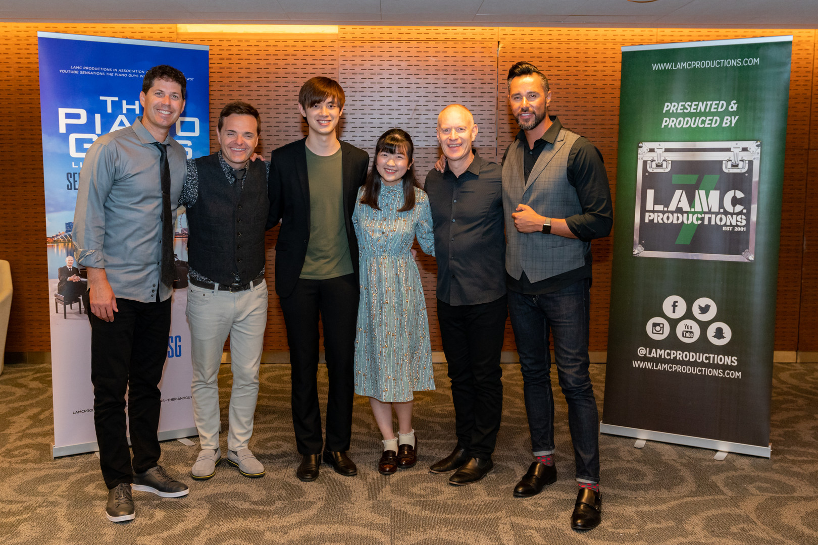 18/09/25 - The Piano Guys Meet & Greet!