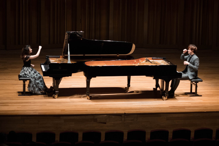 18/04/03 - French Connection Piano Duo Concert