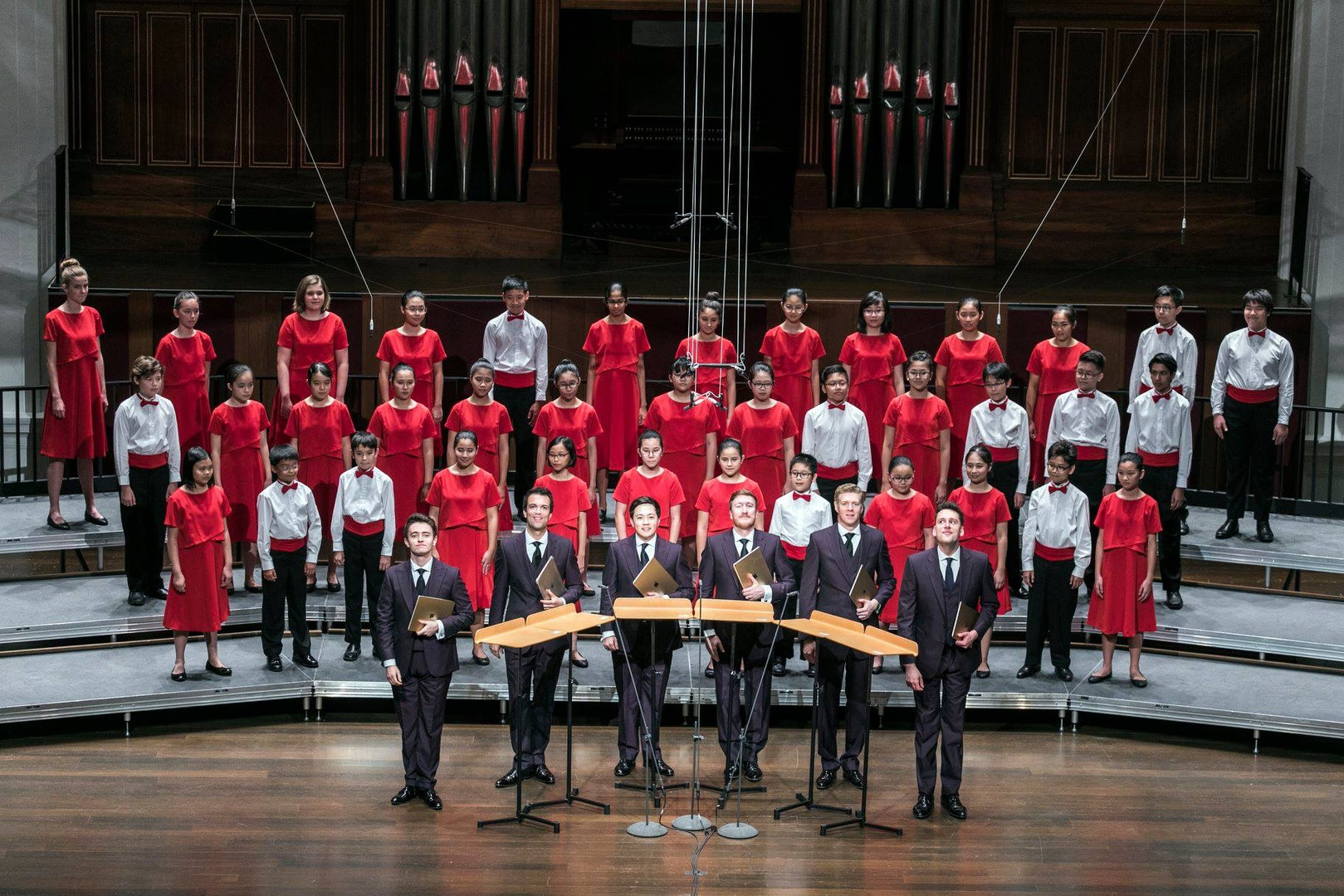 18/02/24 (1/2) - The King's Singers X Singapore Symphony Children's Choir Concert