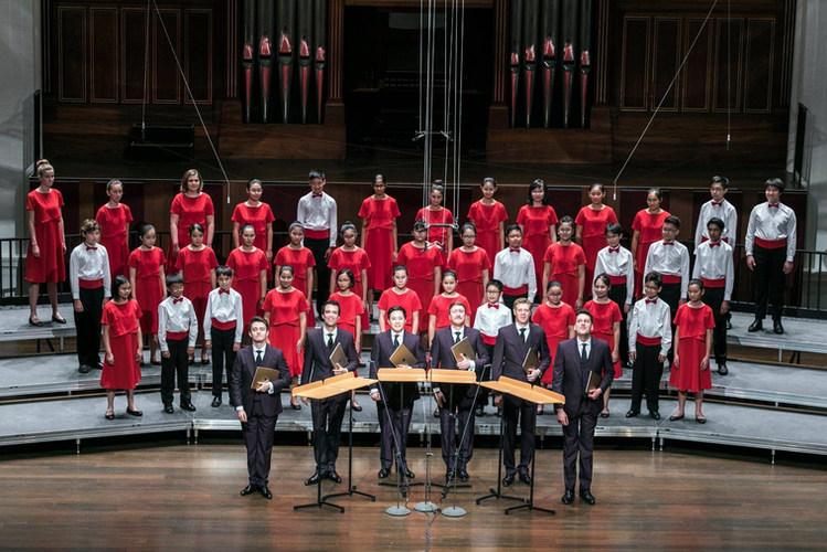 18/02/24 (1/2) - The King's Singers X Singapore Symphony Children's Choir Concert