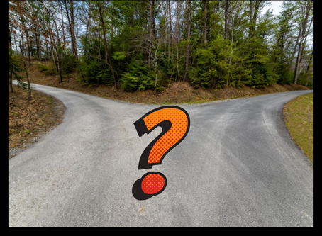 A Fork on the Road ~ Now What?