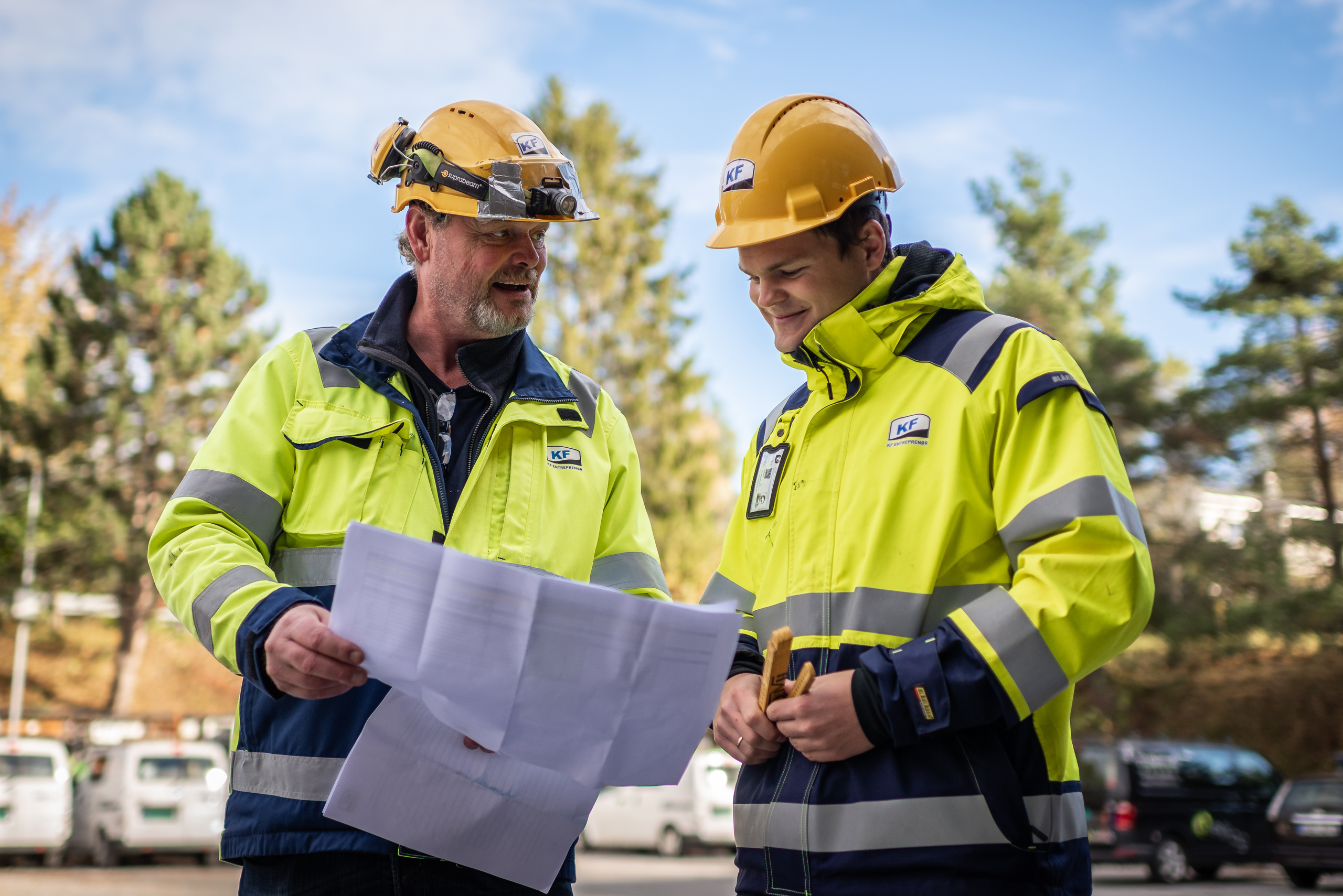Miljøbilder for byggebransje