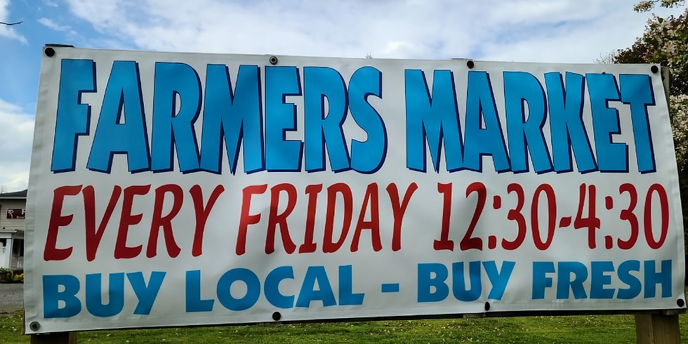 Potter County Farmer's Market August 13th