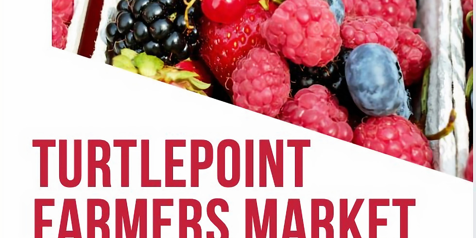 Turtlepoint Farmer's Market August 14th