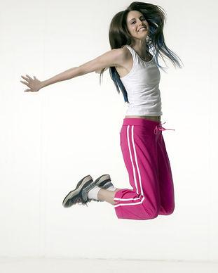 여자 점프