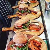 Steak sandwiches & Burgers