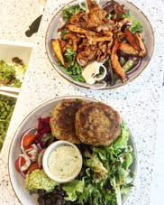 Falafel Bowl & Pork bowl