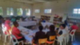 Workshop introducing teachers to e-reade