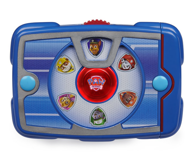 PAW Patrol, Ryder's Interactive Pup Pad with 18 Sounds and Phrases, for Kids Age