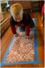 Rainy Day Activities: Sensory, Fine Motor, Gross Motor, and Pretend Play Ideas (Click on photos for