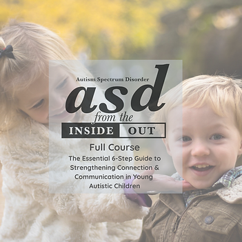 ASD from the Inside Out Full Course w De