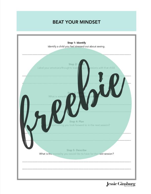 Beat Your Mindset Worksheet