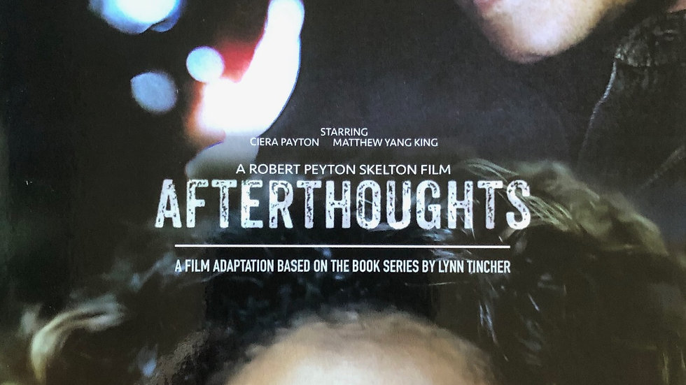 Autographed Afterthoughts Movie Poster 6X9