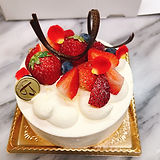 イチゴのホールケーキ5号