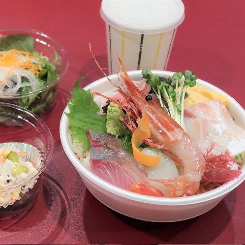 海鮮丼5種
