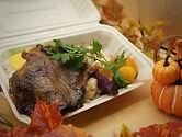 秋の彩り黒毛和牛ステーキ弁当