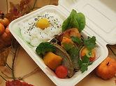 旬のおさかなと彩り野菜の健康弁当