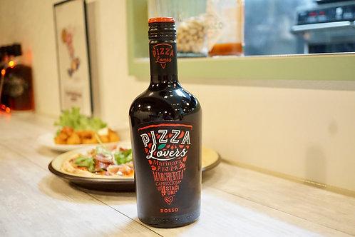 PIZZAのための赤ワイン500ml ピッツァラバーズ