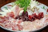 軍鶏鍋 2人前(スープ付)
