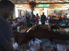 Medical Clinic at Savine's church.JPG